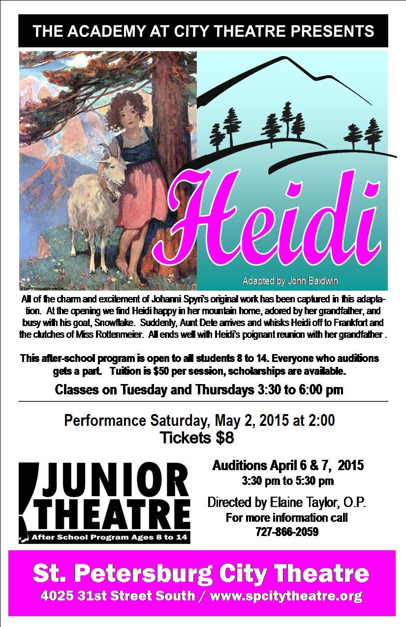 Heidi Half Flyer