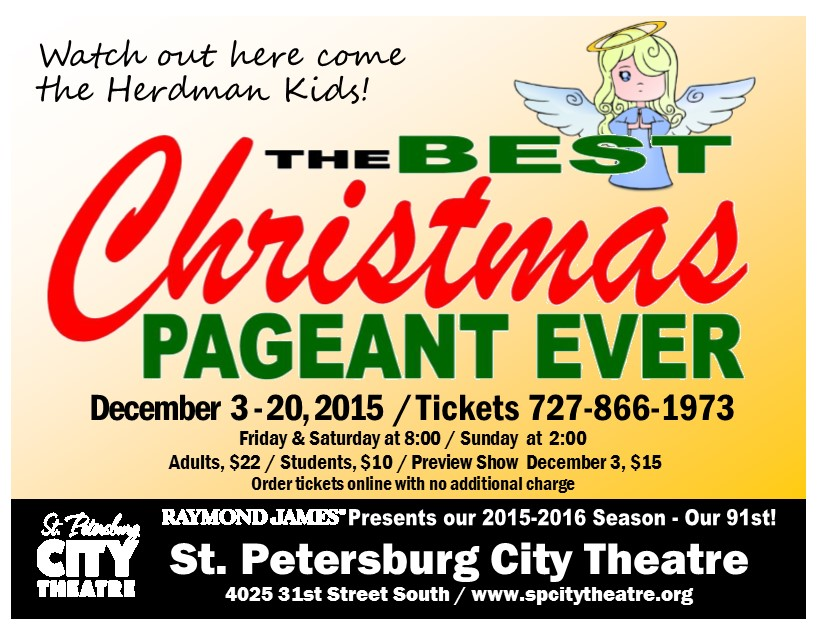 Best Christmas Pageant Postcard 2015